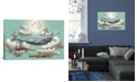 """iCanvas Ocean Meets Sky #2 by Terry Fan Gallery-Wrapped Canvas Print - 18"""" x 26"""" x 0.75"""""""