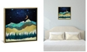 "iCanvas ""Snow Night"" by Spacefrog Designs Gallery-Wrapped Canvas Print"