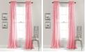 "Lush Decor Avery Ruffle 54"" x 84"" Curtain Set"