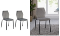 Acessentials Waverly Velvet Dining Chair Set of 2