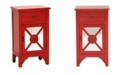 Heather Ann Creations Heather Ann Medallion Accent Cabinet with Drawer