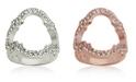 T Tahari Moroccan Metals Ring
