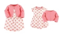 Touched by Nature Organic Cotton Dress and Cardigan Set, Tulip, 5 Toddler