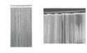 Bath Bliss 3D Octagon Design Shower Curtain