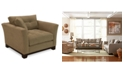 """Furniture Michelle 45"""" Fabric Living Room Chair, Created for Macy's"""