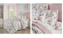 Royal Court Rosemary Rose Full/Queen 3pc. Quilt Set