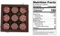 Chocolate Works 9-Pc. Baby Girl Chocolate-Covered Oreo Cookies