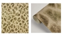 "Brewster Home Fashions Brewster 21"" x 396"" Montone Giraffe Wallpaper"