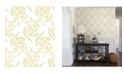 "A-Street Prints 20.5"" x 396"" Arabesque Floral Trail Wallpaper"