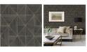 "A-Street Prints 20.5"" x 396"" Cheverny Geometric Wood Wallpaper"