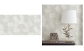 "Advantage 20.5"" x 369"" Plaza Geometric Wallpaper"