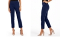NY Collection Petite Straight Leg Pull-On Pants