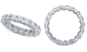 Macy's Diamond Eternity Band (3 ct. t.w.) in 14k White Gold