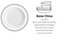 Waterford Lismore Lace Platinum Rim Soup Bowl