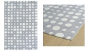 Kaleen Lily Liam LAL04-75 Gray 2' x 3' Area Rug