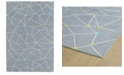 Kaleen Lily Liam LAL08-75 Gray 2' x 3' Area Rug