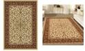 "KM Home CLOSEOUT! 1318/1512/IVORY Navelli Ivory/ Cream 7'9"" x 11'6"" Area Rug"