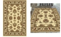 """KM Home CLOSEOUT! 1330/1212/IVORY Navelli Ivory 7'9"""" x 9'6"""" Area Rug"""