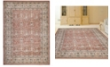 "KM Home CLOSEOUT! 3812/1030/TERRACOTTA Gerola Red 3'3"" x 4'11"" Area Rug"