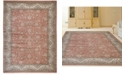 """KM Home CLOSEOUT! 3810/0022/TERRACOTTA Gerola Red 7'10"""" x 10'6"""" Area Rug"""