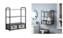 4D CONCEPTS Intek Wall Cabinet With Two Drawers