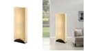 """Artiva USA Sakura 42"""" Modern Contemporary Premium Shade Floor Lamp with Lacquer Base"""