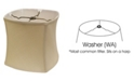 Cloth&Wire Soft Box Softback Lampshade with Washer Fitter Collection