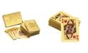 American Coin Treasures Ben Franklin 24 Karat Gold Foil Playing Cards