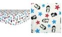 Trend Lab Penguin Flannel Crib Sheet