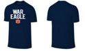 Retro Brand Men's Auburn Tigers Slogan T-Shirt