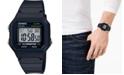 Casio Unisex Digital Black Resin Strap Watch 41.2mm