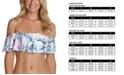 Raisins Juniors' Ruffled Bikini Top