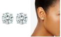 Macy's 3 ct. t.w. Lab Grown Diamond Studs in 14k White Gold
