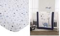 NoJo NoJo Star Print Fitted Crib Sheet