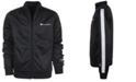 Champion Big Boys Track Jacket with Script Taping