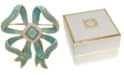 Anne Klein Gold-Tone Pavé & Stone Bow Pin