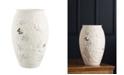 """Belleek Pottery Irish Wild Rose 10"""" Vase"""