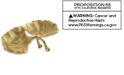 Michael Aram Gold Ginkgo Double Compartment Dish