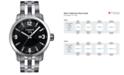Tissot Watch, Men's Swiss PRC 200 Stainless Steel Bracelet 41x42mm T0554101105700