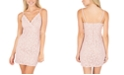 Speechless Juniors' Glitter Lace Bodycon Dress