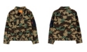 Levi's Big Boys Camouflage Print Trucker Jacket
