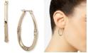 """Anne Klein Gold-Tone Medium Hoop Earrings, 1.32"""""""