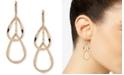 Anne Klein Gold-Tone Double Teardrop Earrings