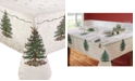Spode Christmas Tree Ivory/Green 60x84 Tablecloth