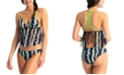 California Waves Juniors' Push-Up Flounce Tankini & Bikini Bottoms, Created for Macy's