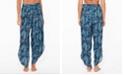 Jessica Simpson Batik Babe Tie Waist Beach Pants