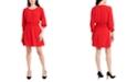 MSK Smocked Fit & Flare Dress