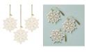Lenox 2020 Snow Fantasies Snowflake Ornament 3-Piece Set