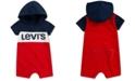 Levi's Baby Boys Hooded Romper