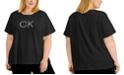 Calvin Klein Plus Size Chain Logo T-Shirt